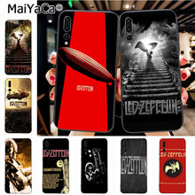 Maiyaca Heavy Metal Band Led Zeppelin Più Nuovo Super Cute Del Telefono Custodie per Huawei Honor 9 Honor 10 P20 caso Coque(China)