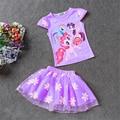 My Girls Clothing Sets Little Pony Kleding Children Set Girls Outfits Girls Clothing  Dress Kids Clothes Kids Tracksuit Dresses