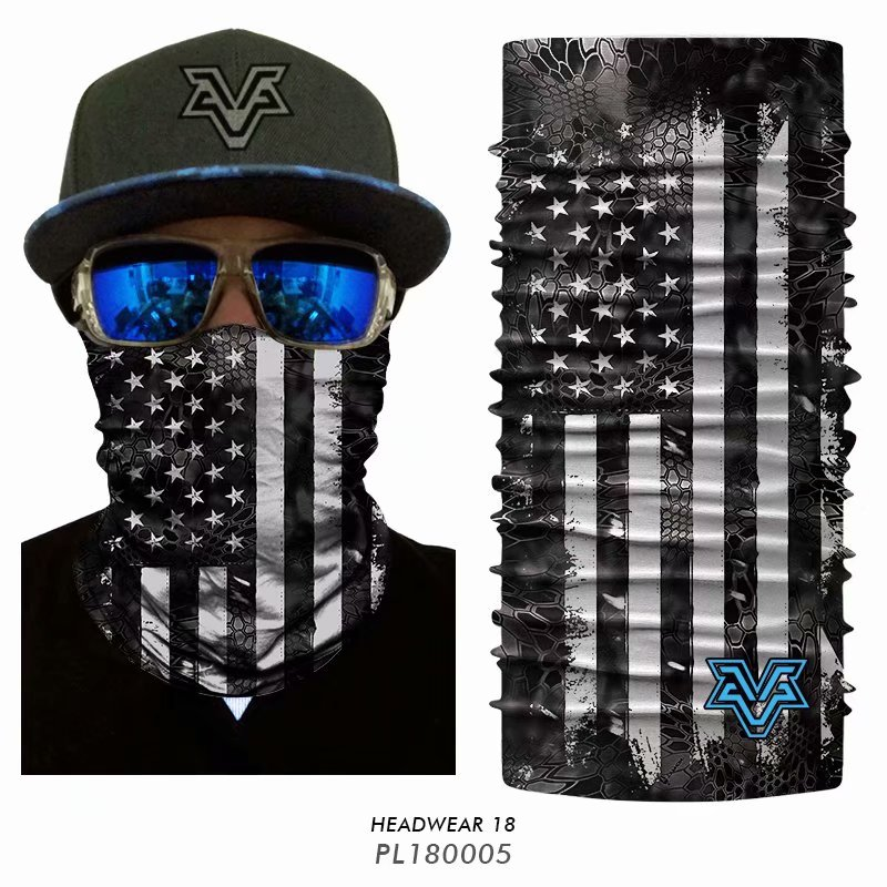 3D Multifunction bandanas Flag <font><b>USA</b></font> Tactical Cycling bandanas Ciclismo scarf Headwear Face shield Neck Warmer Headbands for men image