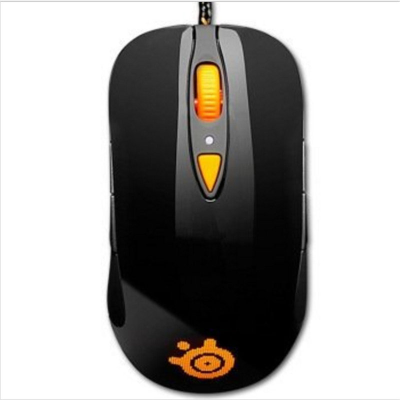100% Original Steelseries SENSEI RAW HEAT ORANGE EDITION Gaming mouse, Steelseries Engine Steelseries Laser mouse