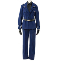 Brdwn Axis Powers Hetalia APH Austria American Italy Germany French Prussia Britain China Cosplay Costume Amy Uniform suit