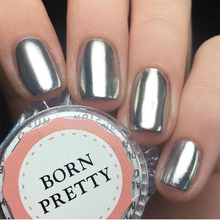 BORN PRETTY Metal Mirror Nail Glitter Powder 1g Gold Silver