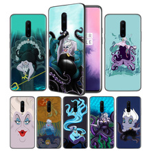 Ursula The Little Mermaid Soft Black Silicone Case Cover for OnePlus 6 6T 7 Pro 5G Ultra-thin TPU Phone Back Protective