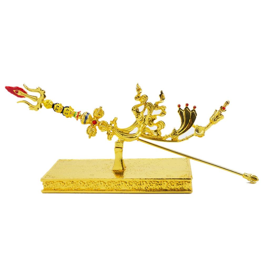 2017 Գուրու Rinpoche W2388- ի նոր Feng Shui ոսկե - Տնային դեկոր - Լուսանկար 2