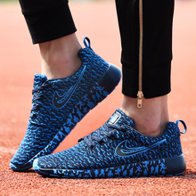 New Men Shoes Casual Mixed Color Breathable Mesh Canvas Flat Sport Walking Shoes Mens Trainers Basket Zapatillas