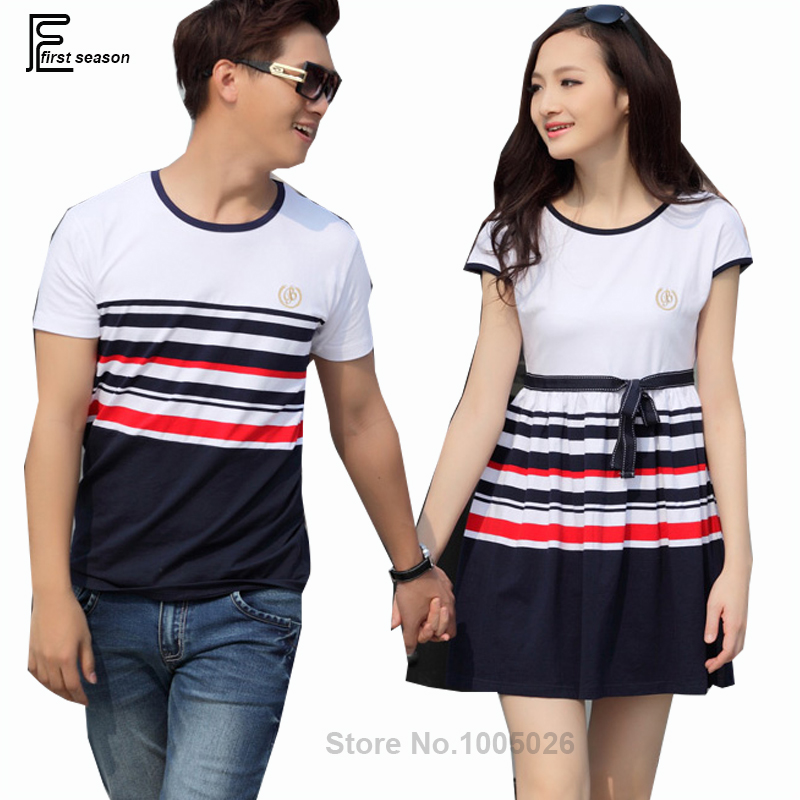 Online Get Cheap Striped Couple T Shirt Lovers -Aliexpress.com ...