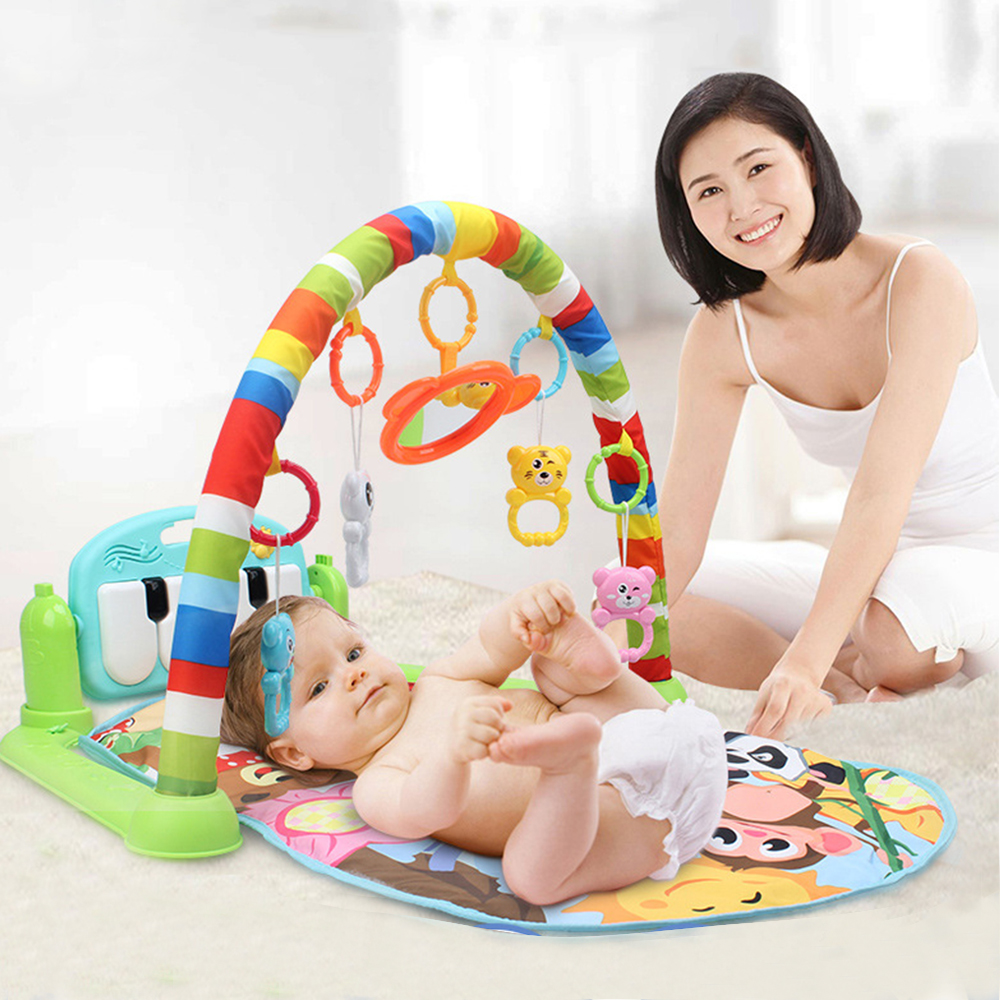 Music Baby Play Mat Baby Educational Toys For Children's Mat Kids Rug Puzzle Playmat Baby Gym Developing Mat Carpet Nursery baby developing rug fitness shelf tapete infantil puzzle mat gym play mats toys for kids