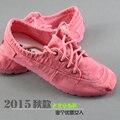 Zapatos de algodón hecho a beijing otoño de mezclilla zapatos de lona zapatos casuales zapatos de moda cómodos zapatos bajos de las mujeres
