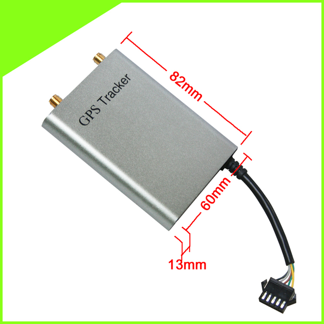 GPS Tracker With SMS Reset CCTR 811 Top Grade Extra Slim AL Metal Case For  Easy Hidden Online Software GPRS Air Upgrade-in GPS Trackers from