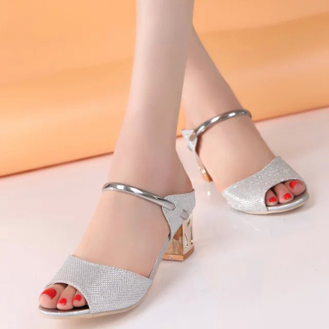 In the limited time discount beautiful women sandals hot slip on slippers women shoes non-slip high heeled sandals women shoes