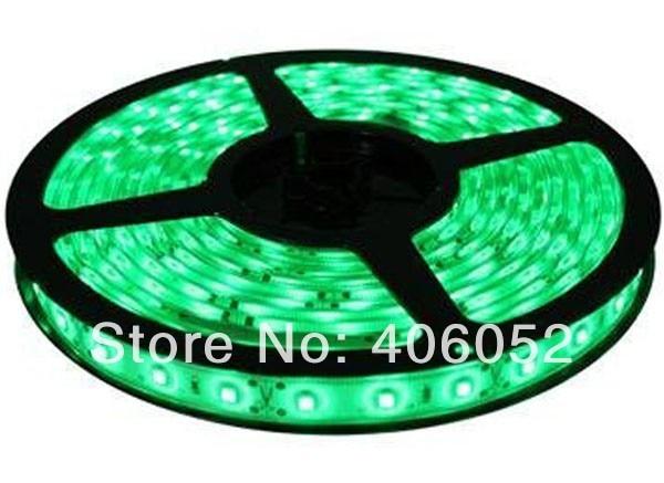 10m/lot decoration led tape light no waterproof IP44 flexible 12v led strip light 3528 smd 120 degree 60LEDS/M
