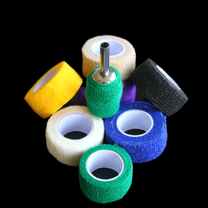 New Waterproof Self Adhesive Elastic Bandage Medical First Aid Kit Nonwoven Cohesive Wound Bandage For Finger 2.5cm* 4.5m