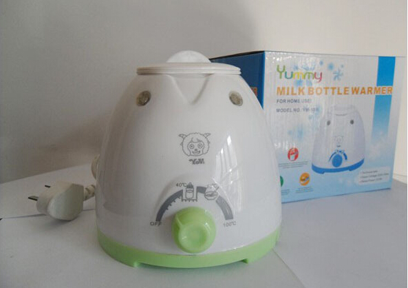Free Shipping  Baby Bottle Warmer PP Material Baby Milk Warmer Baby Bottle Milk Warmer Thermostat Heater
