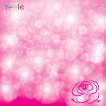 Yeele Wedding Party Photocall Bokeh Love Light Rose Photography Backdrops Personalized Photographic Backgrounds For Photo Studio