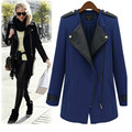 New Women Autumn Winter Trench Coat Female Outwear Ladies Zipper Plus Size Fashion Long Sections Ladies LQ023
