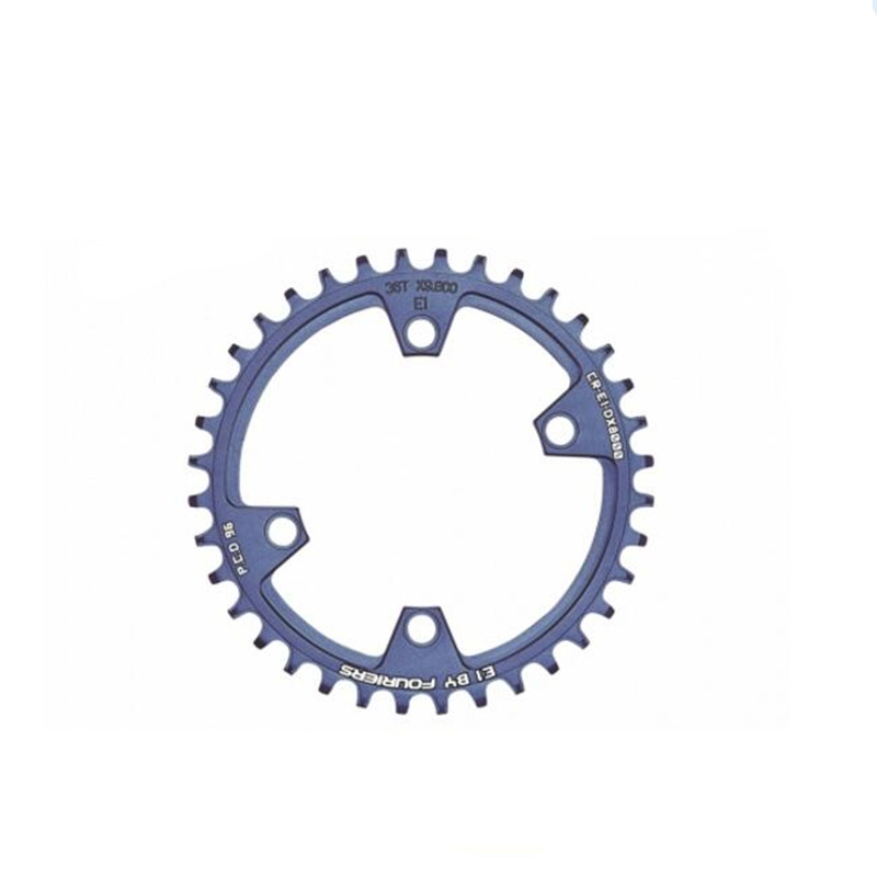 FOURIERS MTB Chainring Chain guard Narrow Wide chainrings for M8000 11 speed 96 pcd fouriers mtb cnc bike big oval single chainring pcd bcd 96mm chain ring for shimano xt m8000 bolts narrow wide teeth chainwheel