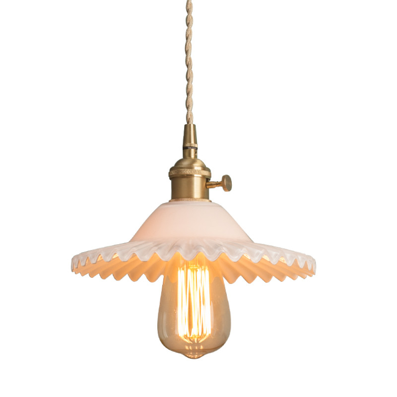 American Loft Style Edison Industrial Vintage LED Pendant Light Fixtures Antique Copper Glass Single Hanging Lamp Home Lighting икона святая блаженная матрона московская
