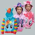 Hot retail brand children's outerwear, boys girls clothing coat,My little pony jackets, children's coat avengers Hoodies/sweater