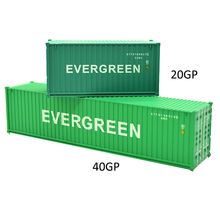 1pc 1:87 HO Train Model 40 Feet Container Oceangoing Ship Freighter Boat Accessories Scale Model Parts Toys for Collection