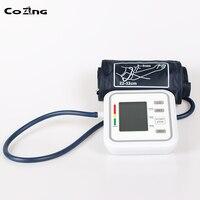 Digital Upper Arm Blood Pressure Pulse Monitor Household tonometer Portable Health Care Meter Sphygmomanometer medical equipment