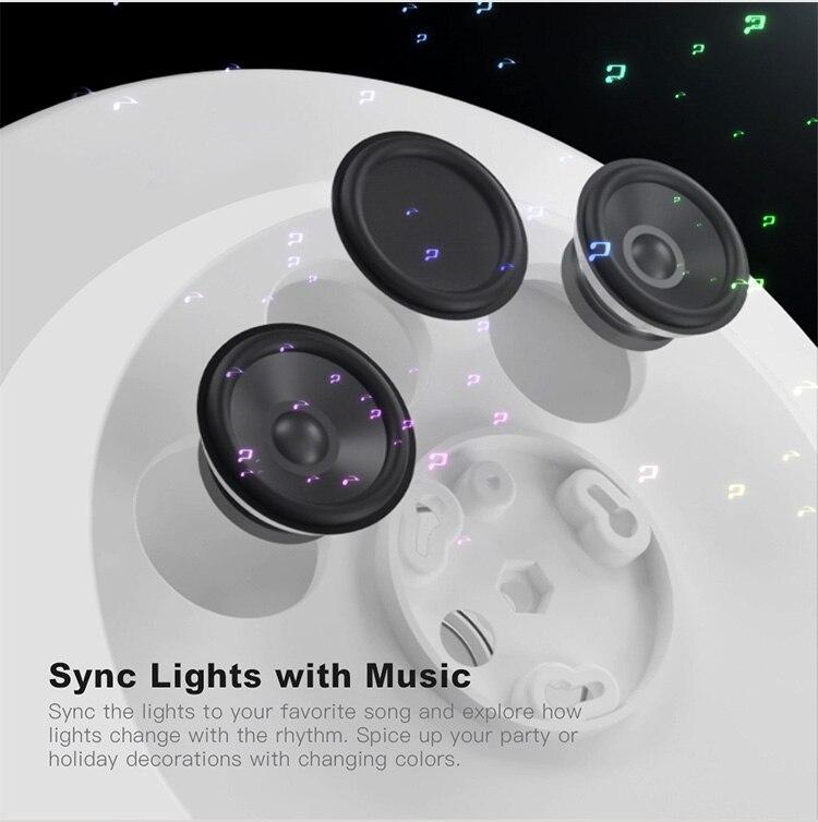 HTB1uedQXEY1gK0jSZFMq6yWcVXaR Modern LED ceiling Lights home lighting 25W 36W 52W APP Bluetooth Music light bedroom lamps Smart ceiling lamp