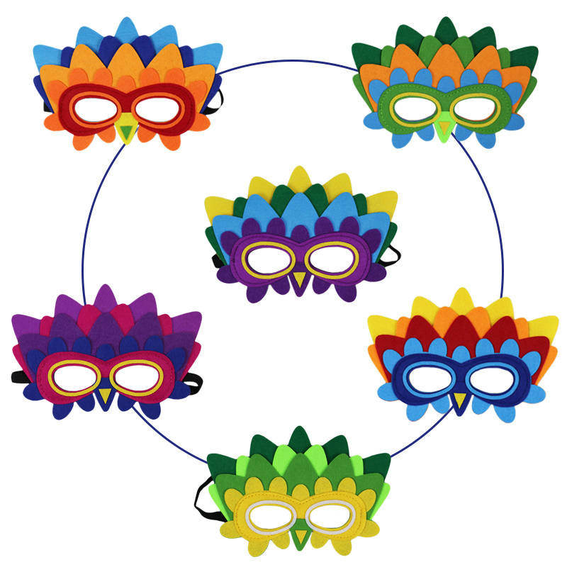 US $1 82 36% OFF|SPECIAL Parrot Masks For Child Face Mask Themed Kids Party  Costumes Boys Gifts Masquerade Christmas Animal Face Mask Toys-in Boys