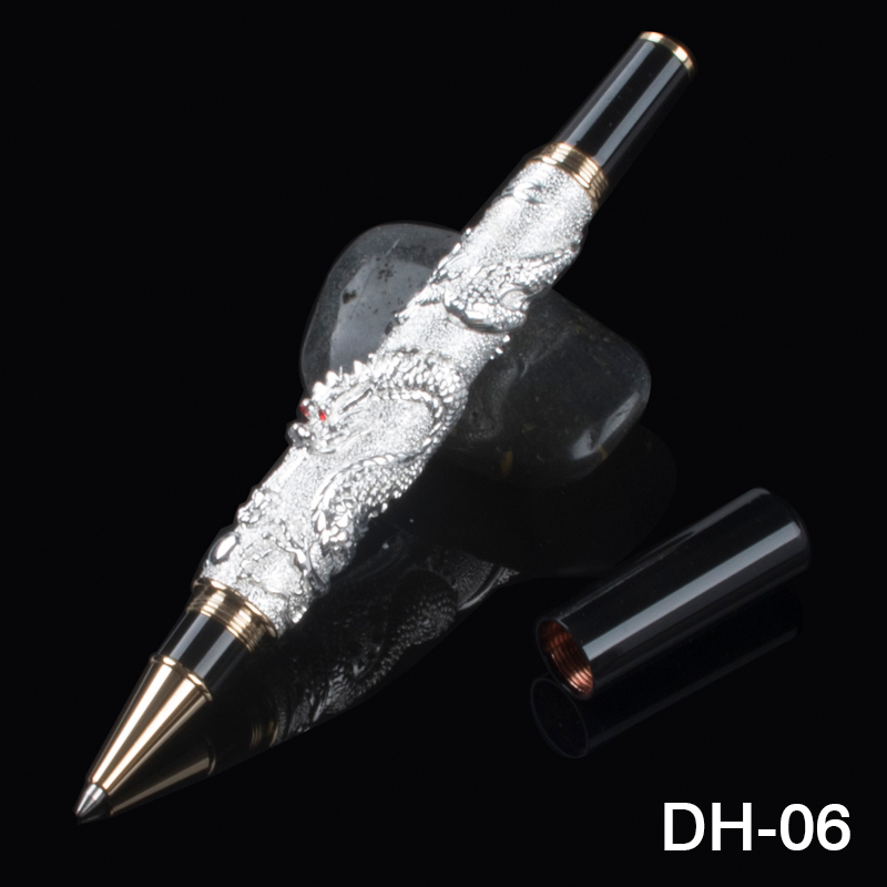 Luxury Jinhao 0.7mm Black Ink Refill Roller ball Pen for Business Office Good Writing High-end Gift Pens with A Gift Box цена