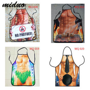 Funny Sexy Cooking Apron Kitchen Dinner Naked Party men Kitchen Cooking BBQ Party Bar Funny Aprons Dinner Baking Accessories