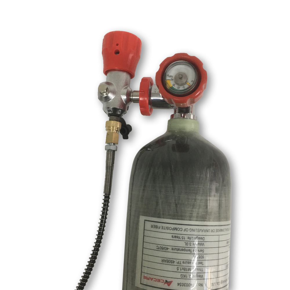 AC103101 Co2 Paintballing 3L Co2 Paintballing Gas Cylinder Underwater Hunting Weapons Scuba Diving Tank Buy China Direct Softgun