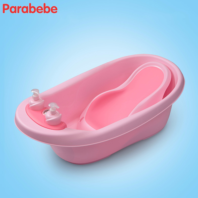 Smart Thermometer Baby Bathtub Infant Baby Products For Children Shower Seat Baby Bath Tub With Thermograph Portable Bath Chair foldable baby bath tub bed pad bathtub bath chair shelf baby shower nets newborn baby bath seat infant bath bathtub support