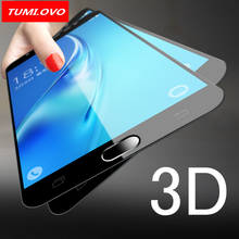 Фотография 9H 3D Full Cover Tempered Glass For Samsung Galaxy A3 A5 A7 J3 J5 J7 2016 2017 J330 J530 J730 Screen Protector Film Protective