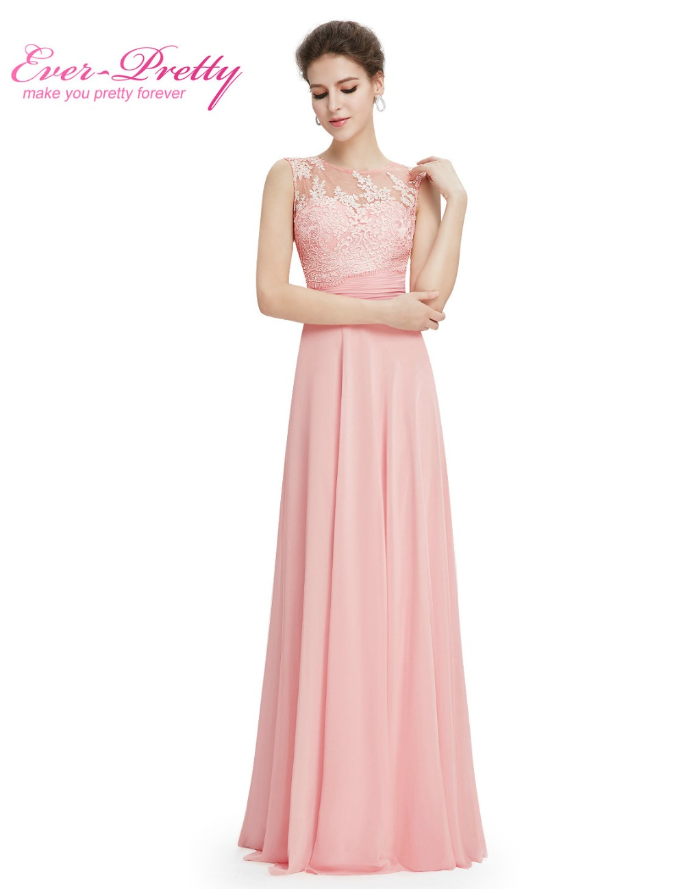 Online shop elegant light pink chiffon long bridesmaid dresses online shop elegant light pink chiffon long bridesmaid dresses ep08760 2017 vestido formal dress floor length sleeveless bridesmaid dresses aliexpress ombrellifo Image collections