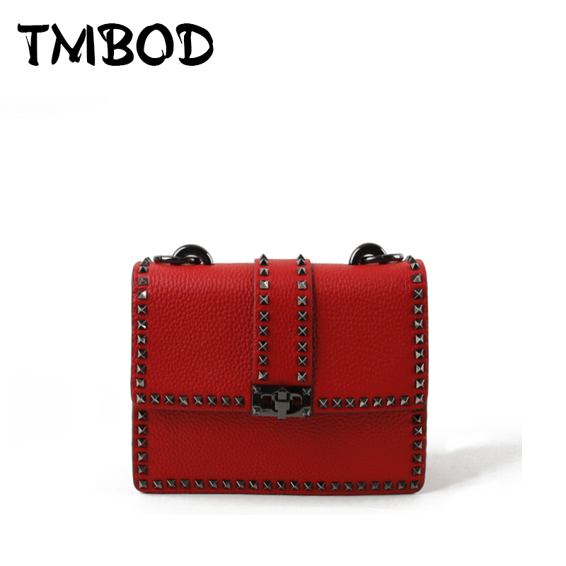 Hot 2018 Classic Retro Small Flap with Studs Crossbody Bag Women Split Leather Handbags Lady Messenger Bag For Female an1036 hot 2017 classic cute bow crossbody bag with studs women split leather handbags lady bag messenger bag for female an735
