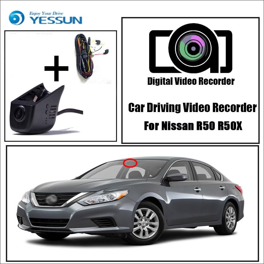 YESSUN pro Nissan R50 R50X auto DVR Mini Wifi kamera řízení video rekordéru 96658 Registrator Dash Cam noční vidění