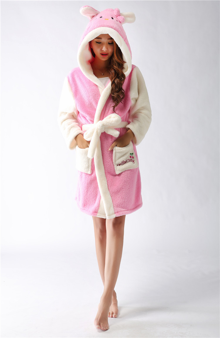 Peignoir femme hello kitty - Robe de chambre hello kitty ...