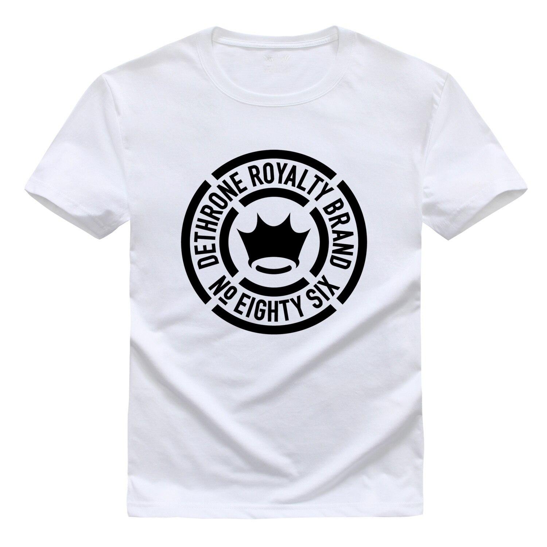 Dethrone men 39 s brand logo t shirt in t shirts from men 39 s for T shirt brand logo