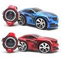 R-103 rc car 2.4g 6ch brinquedo smart watch controle remoto carro de brinquedo carro de comando de voz presente fci #