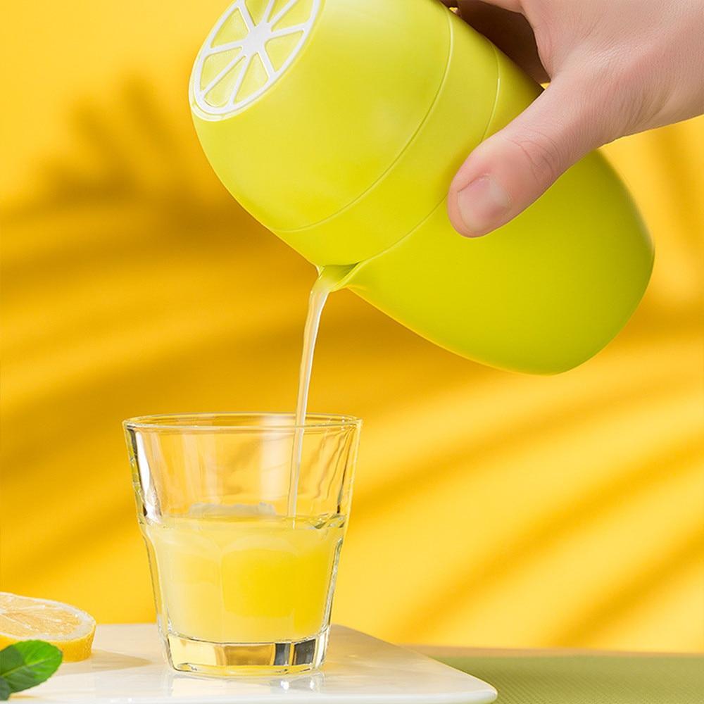 Portable Juicer Press Fruit Juicer Mini Fruit Squeezer For Citrus Orange Lemon Household Juicer Machine