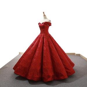 Image 3 - J66671 jancember rot party kleid bodenlangen schatz weg von schulter kleider für besondere anlässe für frauen abiti cerimonia formale