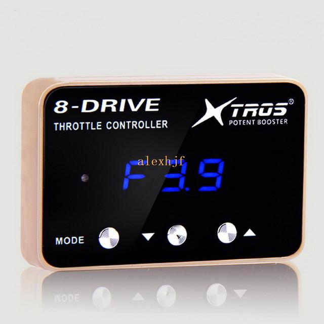 TROS Booster Potent sexta 8-Drive Controlador Electrónico de Aceleración, AK-719 para F35 F45 02 ~ 08 Nissan 350Z Infiniti G35, 370Z