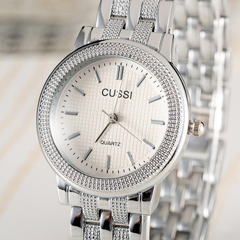 CUSSI Dames Horloge Luxe Merk Fashion Vintage Quartz Dames Goud - Dameshorloges - Foto 4