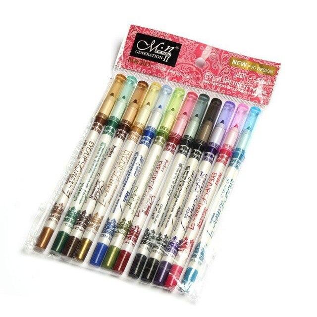 Бренд Menow, набор для макияжа, 12 цветов, водонепроницаемый карандаш для губ, женские профессиональные длительные косметические инструменты, maquiagems
