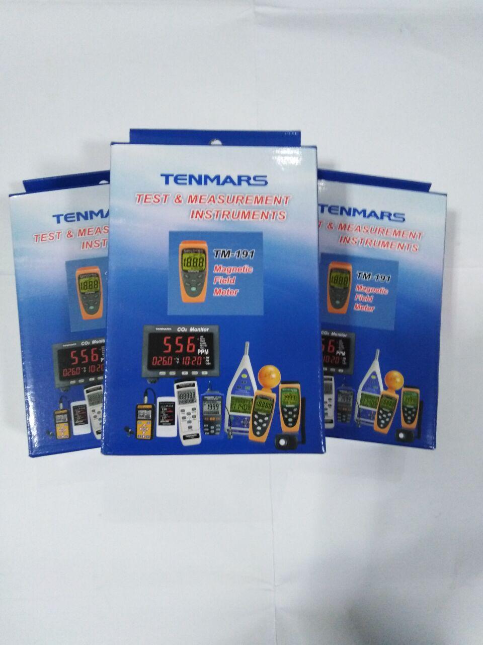 TENMARS TM-191 магнитного поля высокого качества Гаусс метр TM191