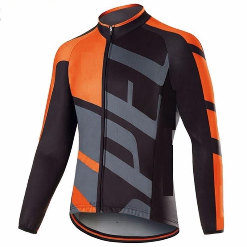 Prix pour Nouveau 2017 cycling Team porter Unisexe ropa ciclismo printemps vélo tour vêtements SL PRO manches longues Jersey vélo de route vélo Jersey