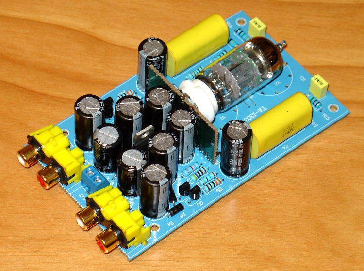 Kind-Hearted 3w Ac12v-15v 500ma Music Fax Dx-10 Circuit Design 12at7 Tube Buffer Tube Preamplification Board 123 X 72x 28mm Home Audio & Video