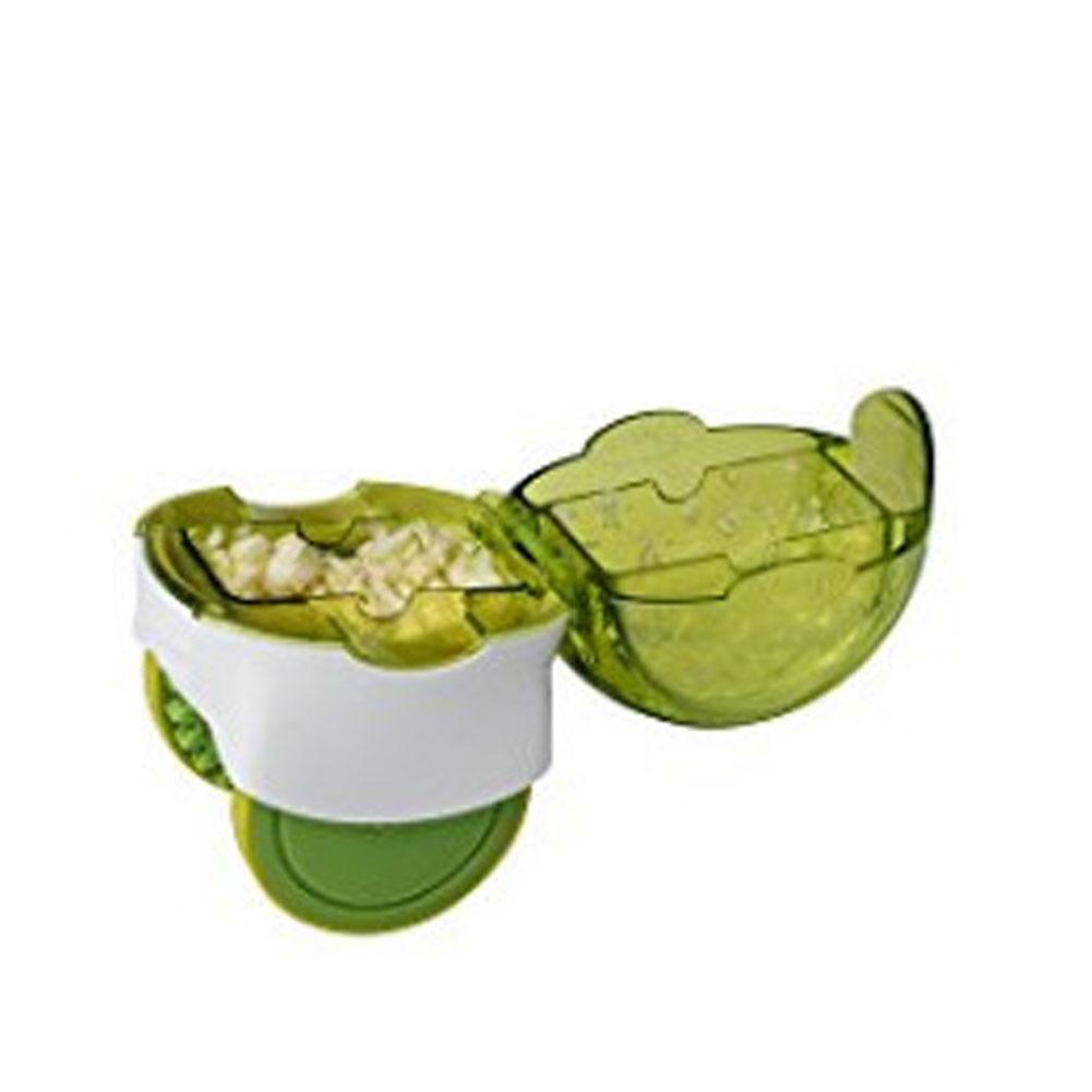 Garlic Cutter Roller Onions Twister Crusher Herb Mincer Slicer Food Vegetables Press Chopper Ginger Peanut Chopper