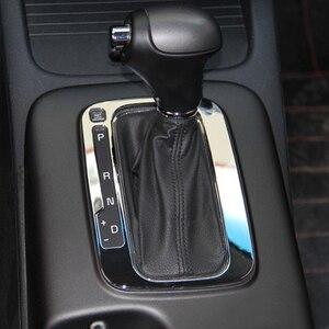 Image 4 - Стайлинг автомобиля, хромированный АБС пластик, подходит для KIA FORTE CERATO K3 2012 2013 2014 2015, автомобильная переключение передач, отделка, молдинговая крышка, аксессуары для рамы