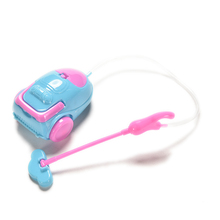 Mini Vacuum Cleaner for Barbies Cute Doll Furniture for Kids Play House Doll Accessories