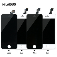 100 PCS LOT Factory Wholesale A Quality LCD Display Replacement For IPhone 5 5C 5S SE