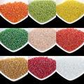 Super pequeno 2mm luster vidro checa contas espaçador semente 1000 pçs/lote cor áustria cristal redonda beads buraco para diy fazer jóias